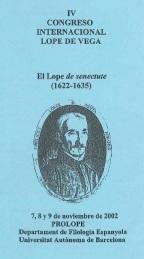 IV Congreso Internacional Lope de Vega