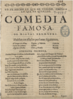 Abraham Madroñal descubre una comedia de Lope de Vega
